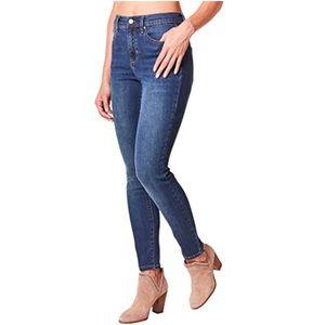 Nicole Miller dark wash skinny jeans